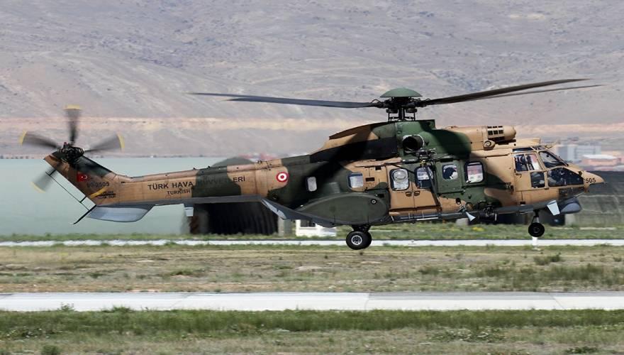 Συντριβή τουρκικού AS-532 Cougar στην Ν.Α.Τουρκία: 13 νεκροί – Μεταξύ τους στρατηγός της «κλειστής» ομάδας Ερντογάν (βίντεο)