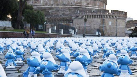 Τα μπλε…εκείνα ανθρωπάκια που έγιναν διάσημα!