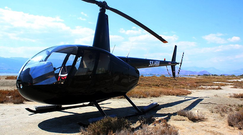 Eπεσε ψεκαστικό ελικόπτερο στον Σχινιά