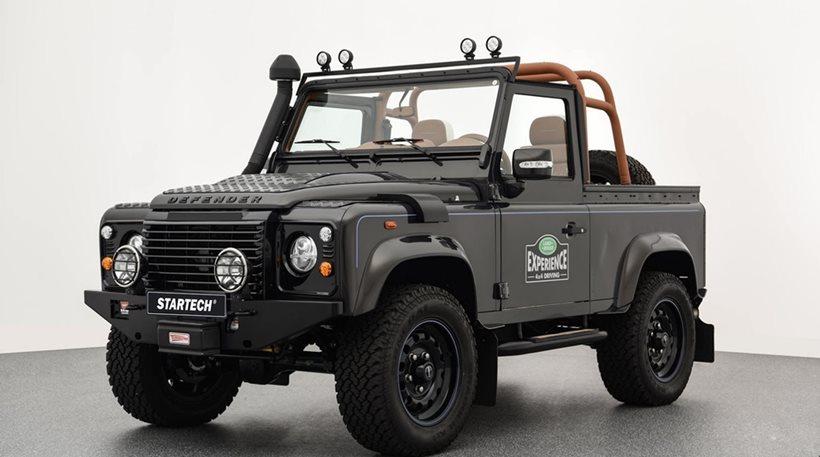 Ένα Land Rover Defender με premium χαρακτήρα
