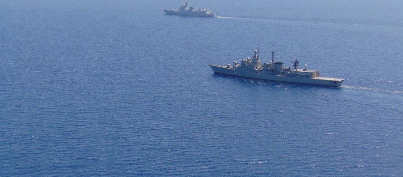 Πρωτοφανές: Κοινές ασκήσεις Πολεμικού Ναυτικού με το κινεζικό Ναυτικό στο Αιγαίο δίπλα στα τουρκικά πολεμικά! (βίντεο)