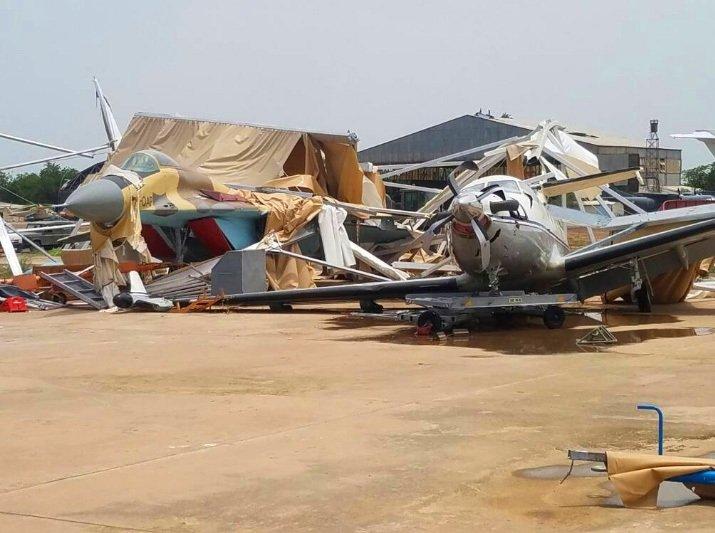 Μοναδικό παγκόσμιο φαινόμενο: Μια ολόκληρη Πολεμική Αεροπορία καταστράφηκε στο έδαφος από… θύελλα!