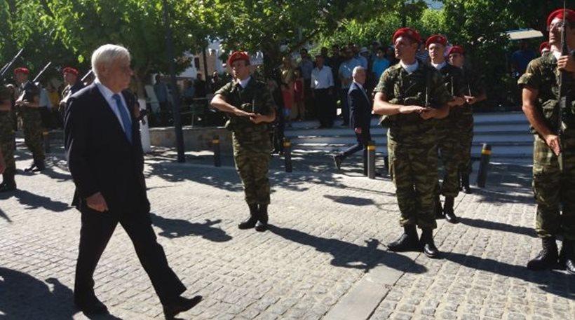 Παυλόπουλος από τα Ανώγεια: Η ελευθερία είναι υπαρξιακή αρχή των Ελλήνων