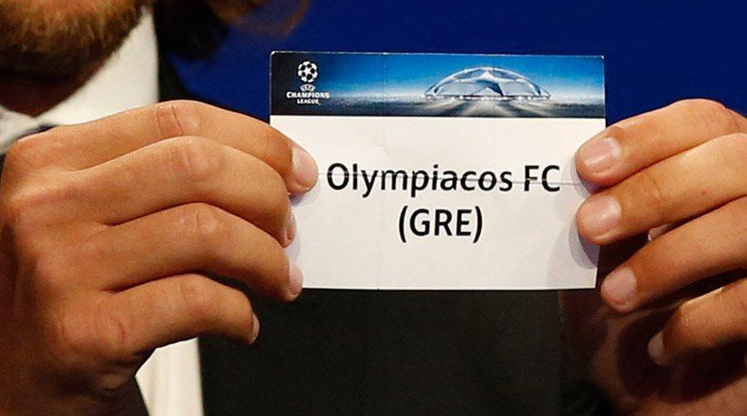Champions League: Με Γιουβέντους, Μπαρτσελόνα, Σπόρτινγκ Λισαβόνας ο Ολυμπιακός!