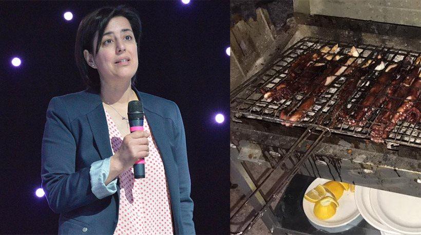 Η υπεύθυνη της ταβέρνας απαντά στη Δεναξά: Όποιος θέλει να τρώει μισό μέτρο χταπόδι, το πληρώνει