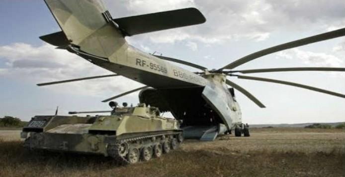 Mi-26: Το μεγαλύτερο ελικόπτερο του κόσμου στην Αθήνα
