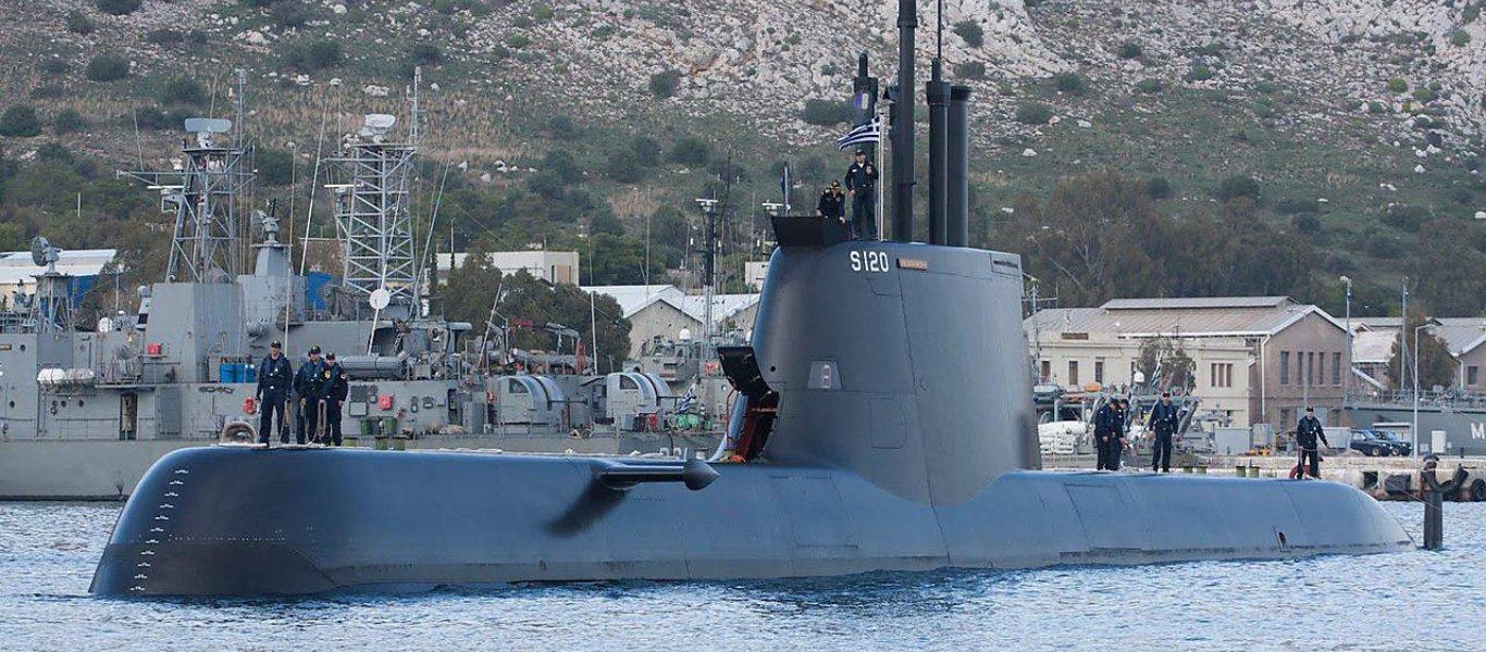 Οι Γερμανοί «υποκλίνονται» στο Πολεμικό Ναυτικό για την ενεργοποίηση των υποβρυχίων Type 214