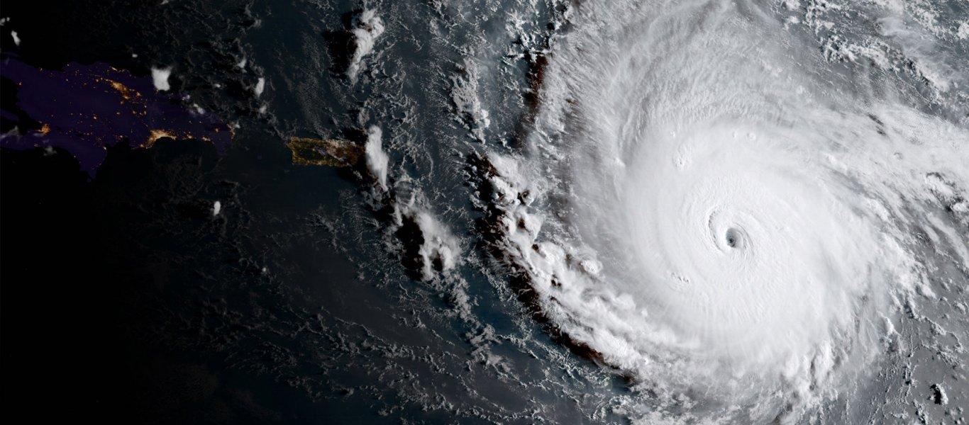 Ο τυφώνας «Ίρμα» είναι μεγαλύτερος από την Ελλάδα και την Ιταλία μαζί! (φωτό)
