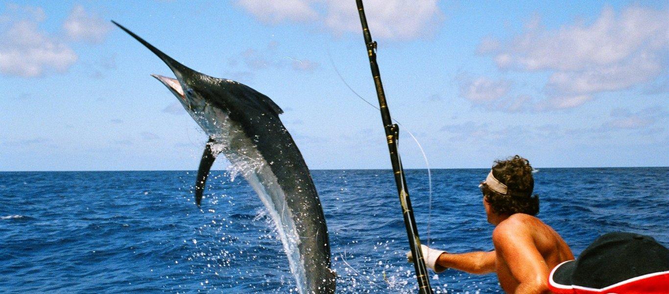 Όταν το ψάρεμα μετατράπηκε σε… περιπέτεια! (βίντεο)