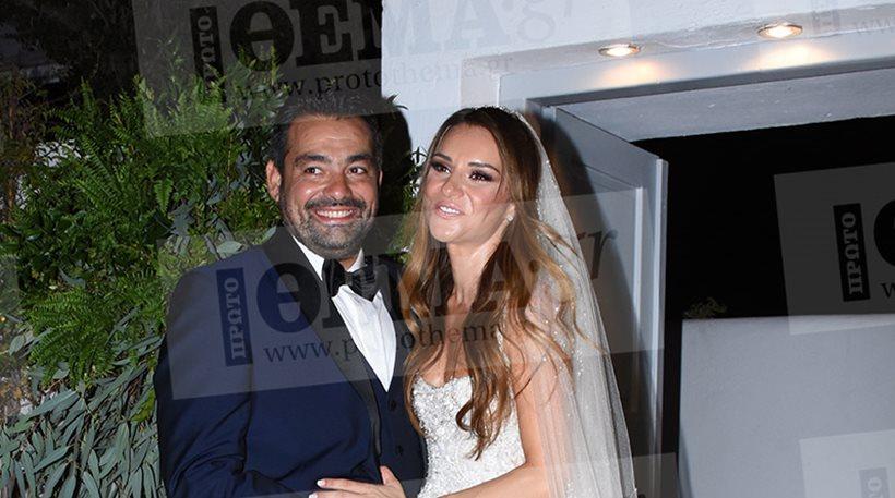 Φωτογραφίες: Παντρεύτηκε η παρουσιάστρια Ελένη Τσολάκη