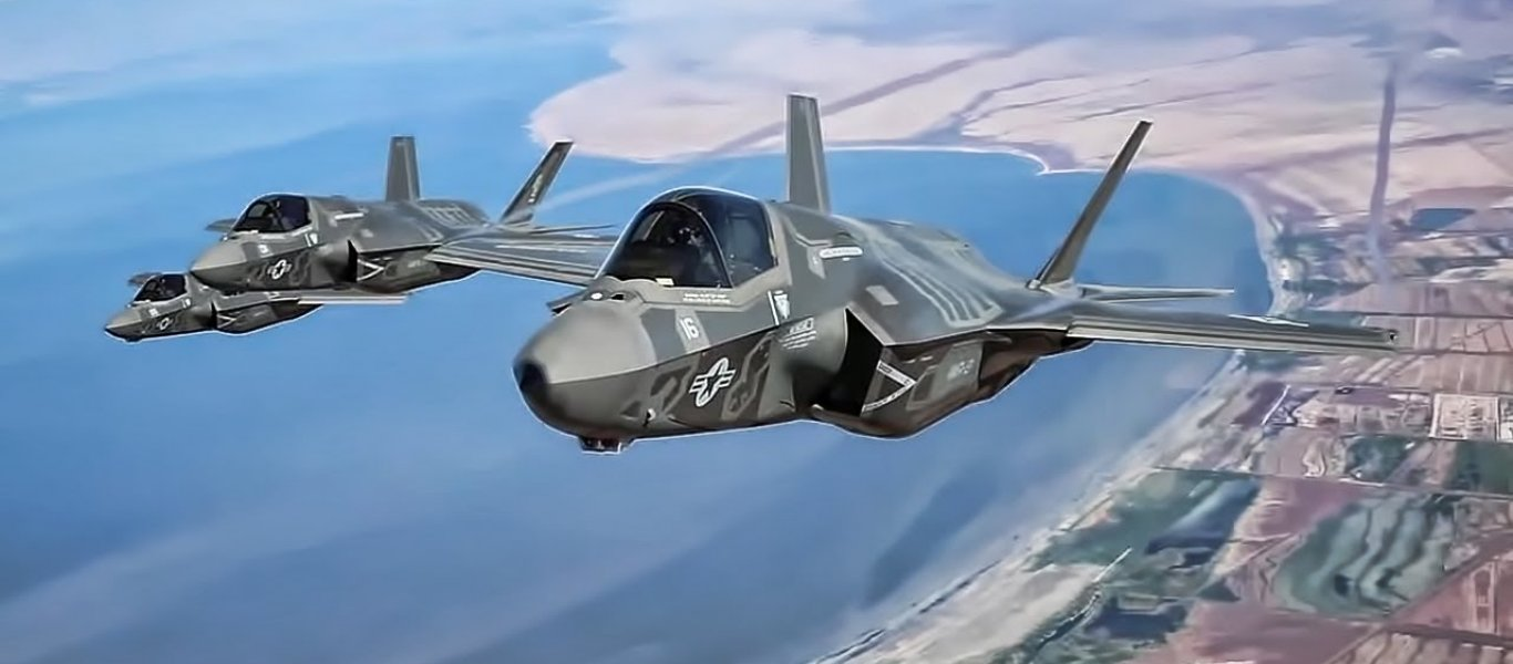 «Αγριο ξύλο» σε Rafale, Eurofighter και F-15E από τα F-35 σε επικές αερομαχίες στην «Atlantic Trident»!