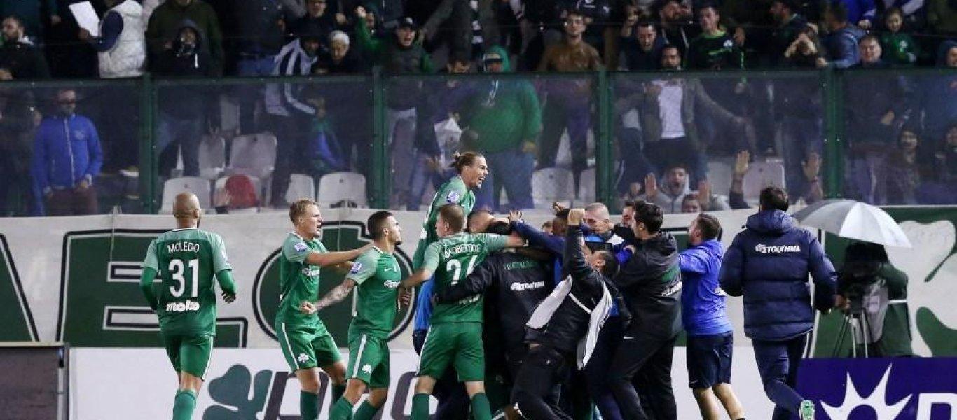 Πήρε το «αιώνιο» ντέρμπι ο Παναθηναϊκός- Νίκη επί του Ολυμπιακού με 1-0 στην Λεωφόρο!