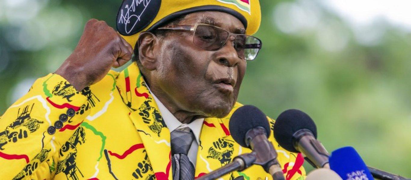 Η ιστορία πίσω από την καθαίρεση του 93χρονου Προέδρου της Ζιμπάμπουε με το δηλητηριασμένο … παγωτό