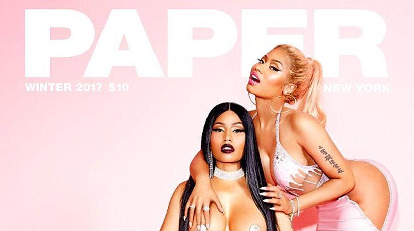 Βίντεο: Η Nicki Minaj «σπάει το internet» και γλείφει το ίδιο της το στήθος