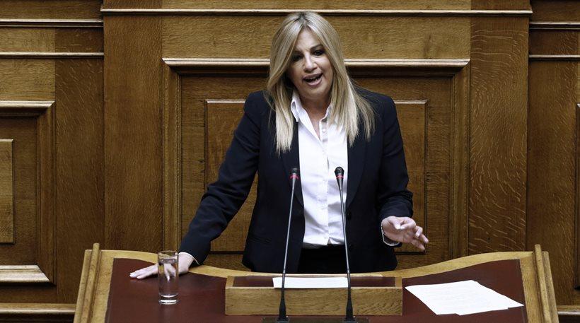Γεννηματά: «Διάλογος με Τσίπρα δεν έχει γίνει επειδή κυβερνά με ακροδεξιά…»