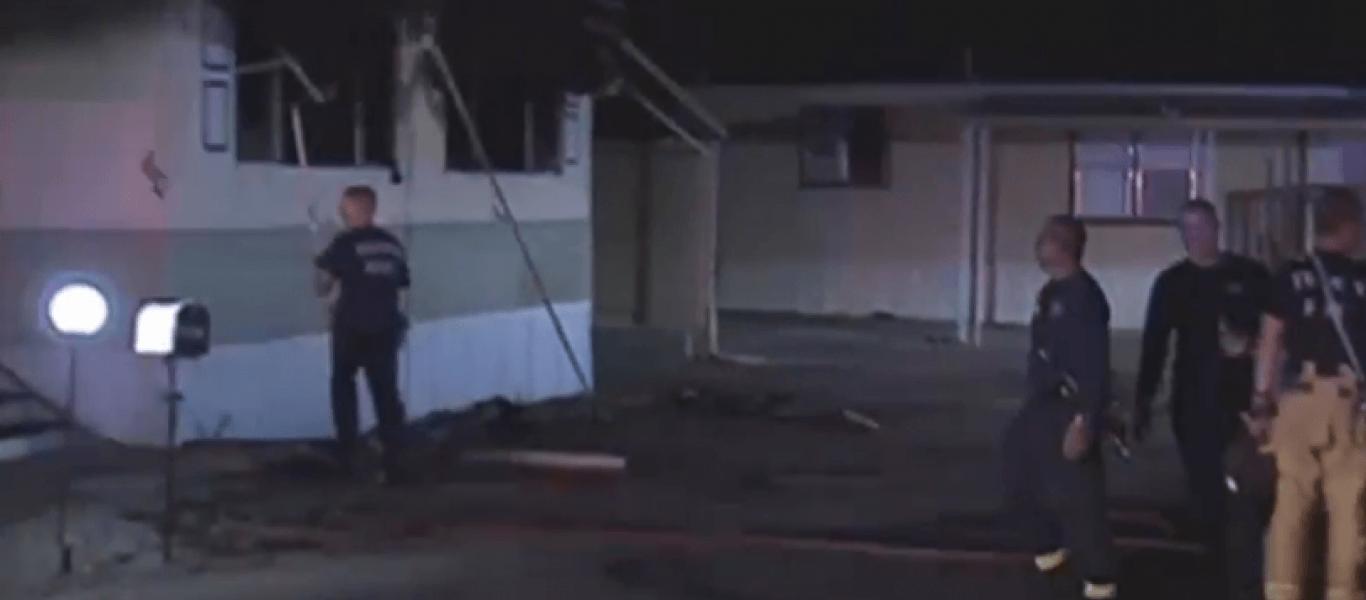 Έβαλε φωτιά στο σπίτι του, προσπαθώντας να σκοτώσει μία αράχνη (βίντεο)