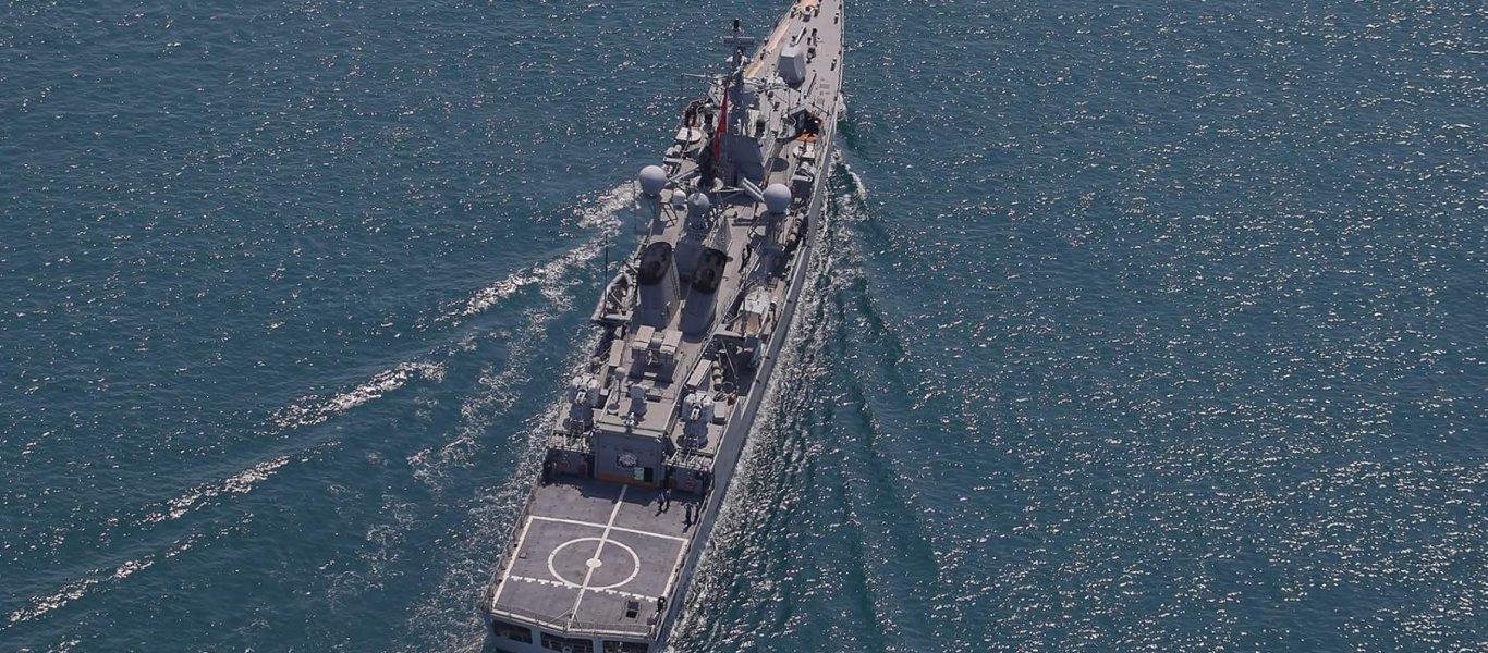 Άσκηση του τουρκικού Ναυτικού με πραγματικά πυρά εντός του Πεδίου Βολής Άνδρου! – Υπό παρακολούθηση κορβέτα του TΝ