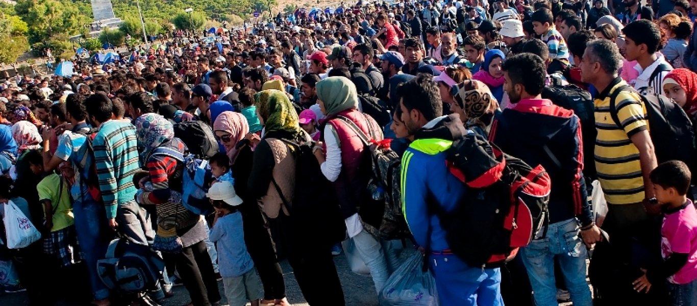 Λέσβος: 32.000 κάτοικοι 8.200 αλλοδαποί μουσουλμάνοι