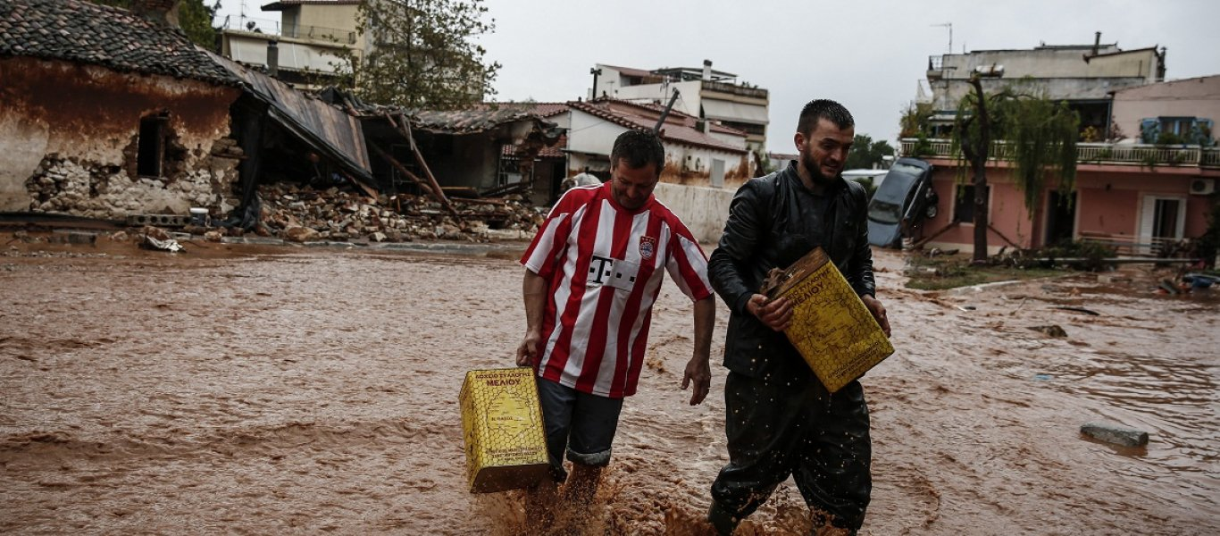 Mέγιστη καταστροφή: 15 νεκροί – 500 σπίτια καταστράφηκαν – 50 σκάφη βούλιαξαν