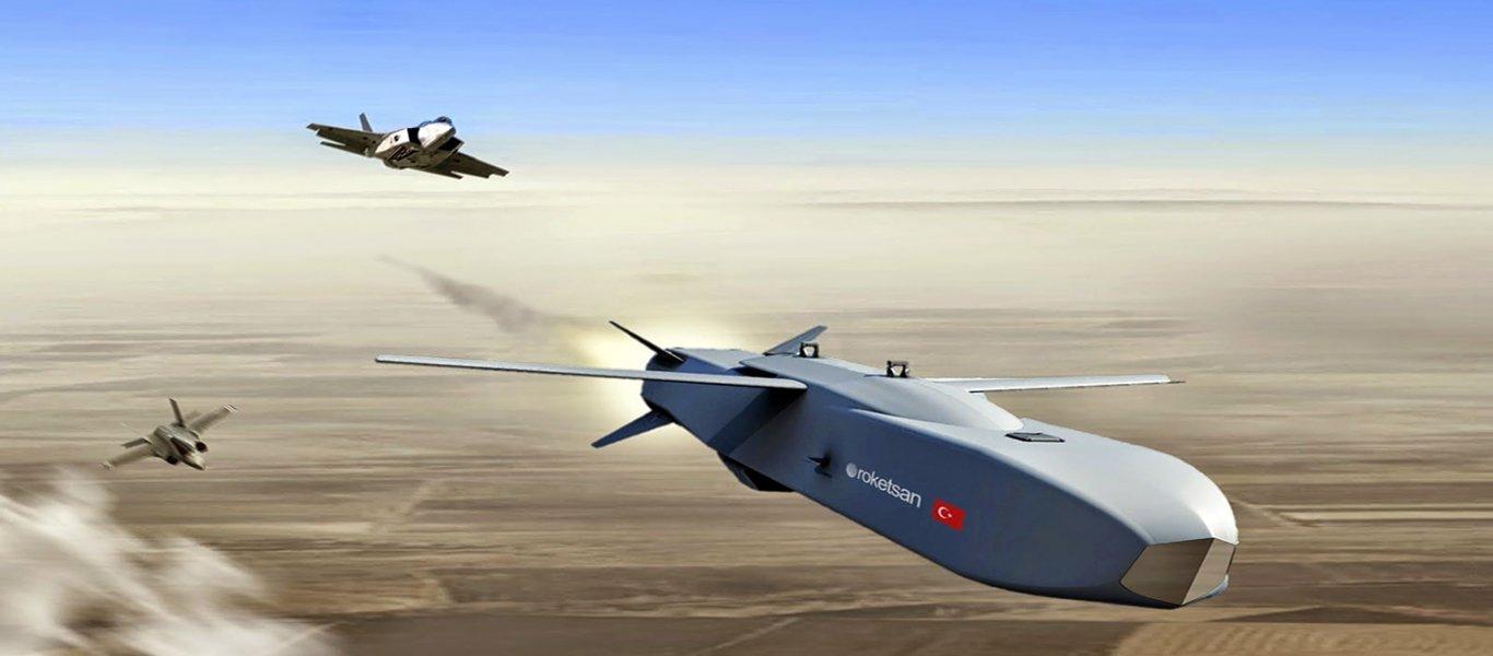Η Lockheed Martin συμφώνησε με την Τουρκία για την πιστοποίηση του βλήματος cruise SOM-J στα τουρκικά F-35
