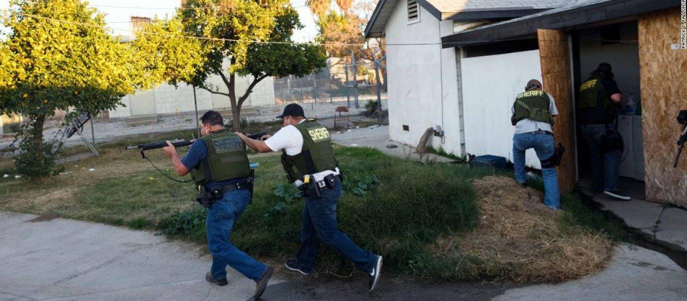 Νέα σφαγή στις ΗΠΑ: Ένοπλος έριξε 100 σφαίρες σε παιδάκια! – 4 νεκροί