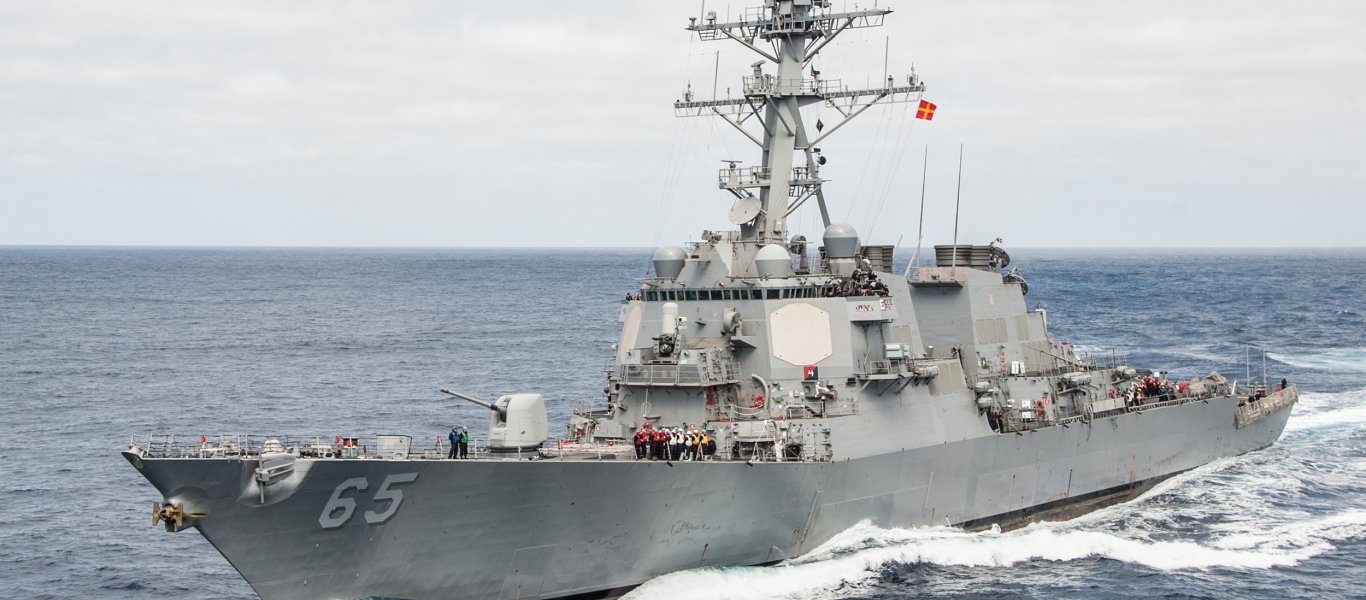 To αμερικανικό αντιτορπιλικό «USS Benfold» συγκρούστηκε με ιαπωνικό ρυμουλκό – Η 5η φέτος για το U.S. Navy! (βίντεο)