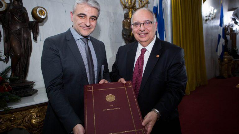 Στον καθηγητή Μ. Κουτσιλιέρη το Βραβείο Εξαίρετης Πανεπιστημιακής Διδασκαλίας του ΙΤΕ