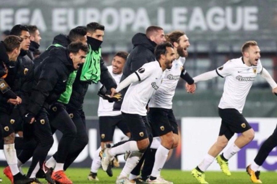Η ΑΕΚ κληρώθηκε με την Ντιναμό Κιέβου στους «32» του Europa League