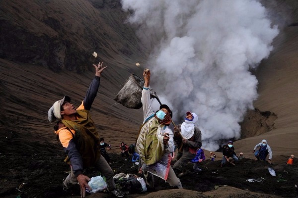 Το ηφαίστειο που πεινάει