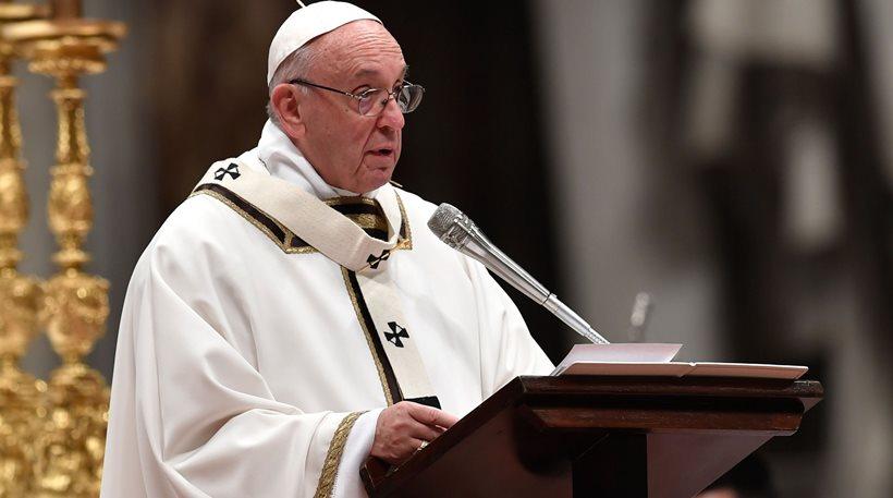 Πάπας Φραγκίσκος: Οι πρόσφυγες σήμερα είναι σαν τον Ιωσήφ και την Παναγία