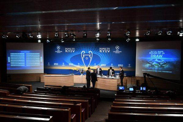 Ζευγάρια «φωτιά» στην κλήρωση των «16» του Champions League