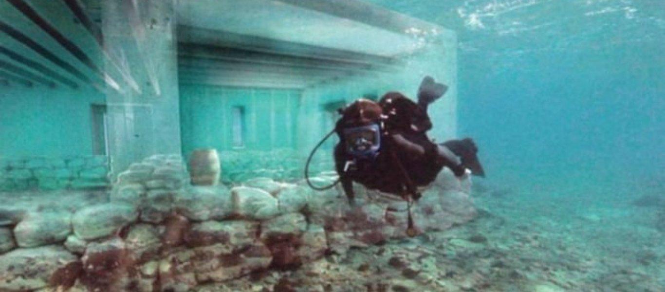Ελαφόνησος: Η υποβρύχια πολιτεία που προκαλεί ενδιαφέρον (βίντεο)
