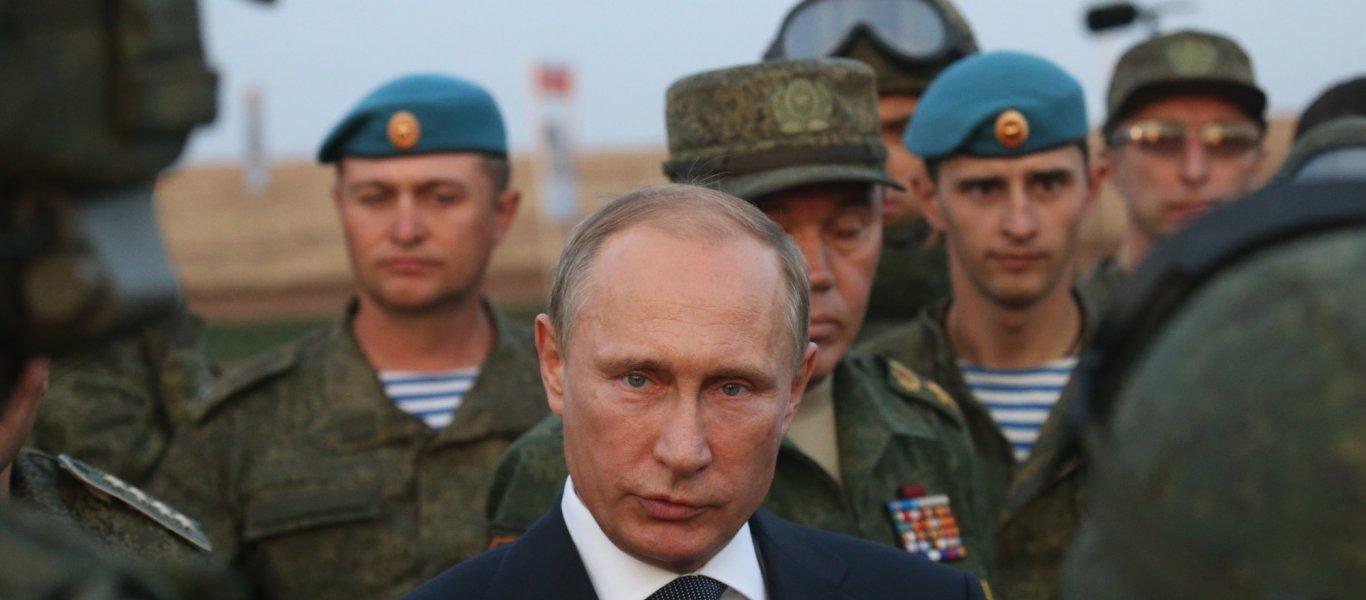 B.Πούτιν από Συρία: «Αποσύρονται οι ρωσικές δυνάμεις – Nικήσαμε»