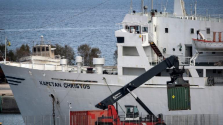 Κατάφερε να «δέσει» το πλοίο με τα εκρηκτικά που έφυγε από την Κρήτη