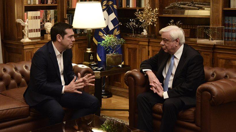 Παυλόπουλος: Να εξαλείψουν τα Σκόπια τον αλυτρωτισμό – Τσίπρας: Έγιναν βήματα