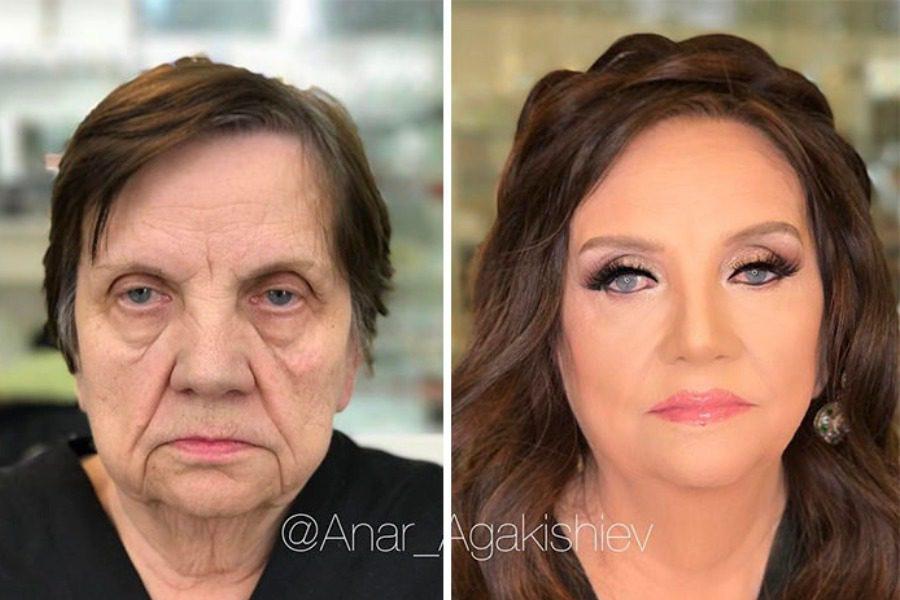 Ο make up artist που μεταμορφώνει κυριολεκτικά τις γυναίκες