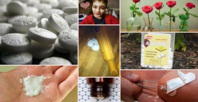 H ασπιρίνη έχει μια ποικιλία από εναλλακτικές χρήσεις, άγνωστες στους περισσοτέρους