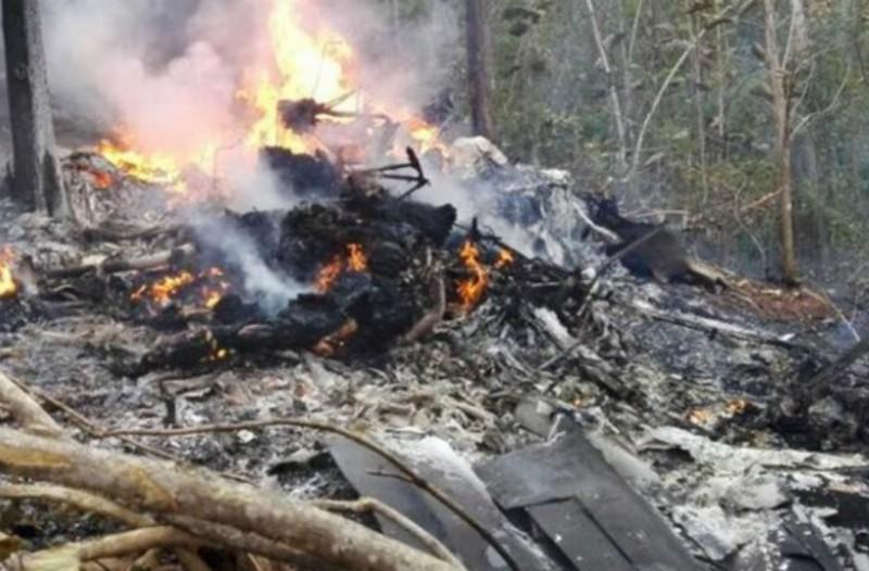 Αεροπορική τραγωδία ανήμερα της Πρωτοχρονιάς: Νεκροί όλοι οι επιβαίνοντες! (Photos)