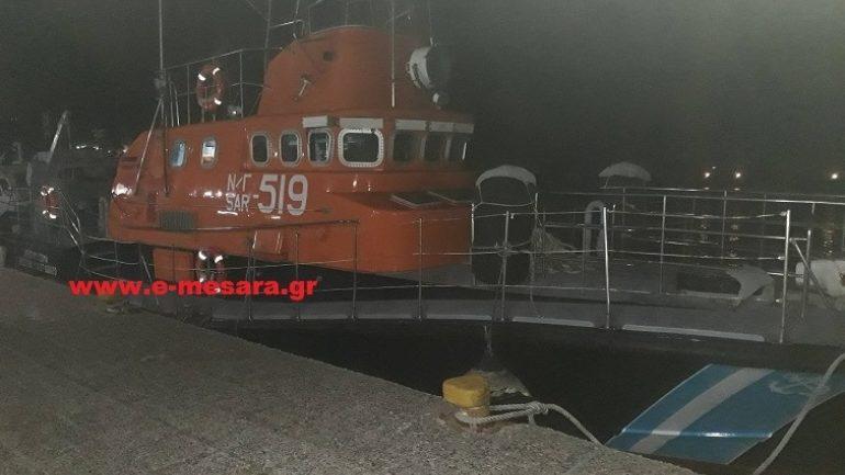 Νέο σκάφος στα νότια παράλια της Κρήτης