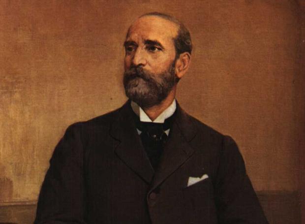Ανδρέας Συγγρός: Ενας «εθνικός τοκογλύφος» που συγκέντρωσε αμύθητα πλούτη και το αστικό κράτος τον τίμησε σαν «εθνικό ευεργέτη». Πέθανε στις 14 Φεβρουαρίου του 1899.