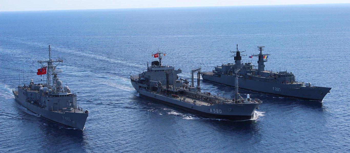 Περικυκλωμένο από 6 τουρκικά πλοία το Saipem 12000 – Υποχώρηση Ιταλίας: Έδωσε εντολή στο γεωτρύπανο να σταματήσει