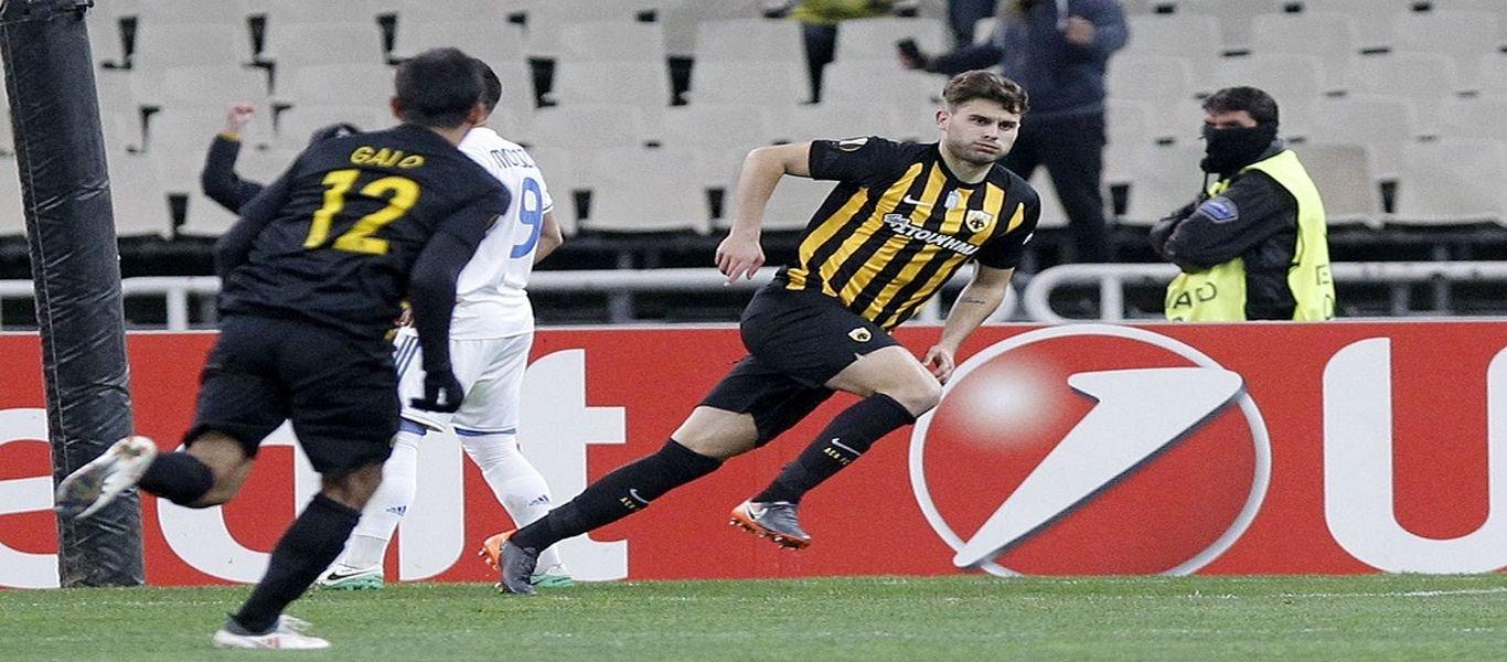 Europa League: Αυτή η ΑΕΚ αρνείται να χάσει – Άτυχη η Ένωση στο εντός έδρας 1-1 με τη Ντιναμό Κιέβου (βίντεο)
