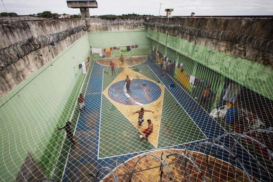 Σοκαριστικές εικόνες από τις βραζιλιάνικες φυλακές