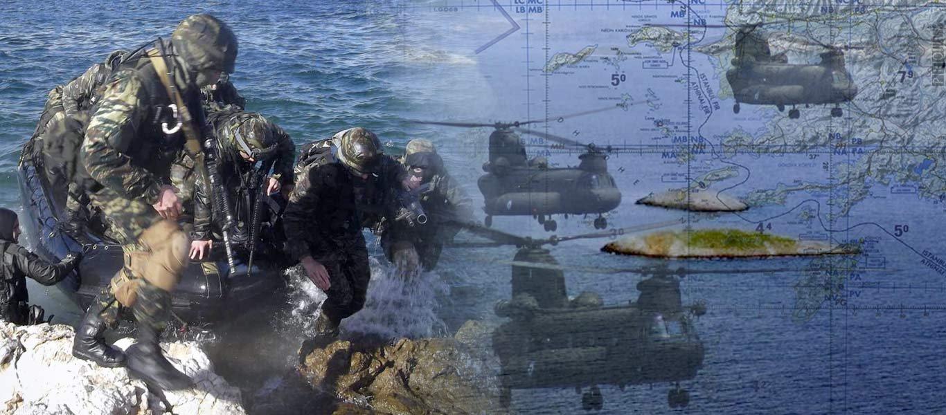 """Η Ελλάδα έθεσε σε επιφυλακή την «Δύναμη """"Δ""""» – «Συνήθης ετοιμότητα» λέει το ΓΕΕΘΑ – Παρέμβαση ΗΠΑ"""
