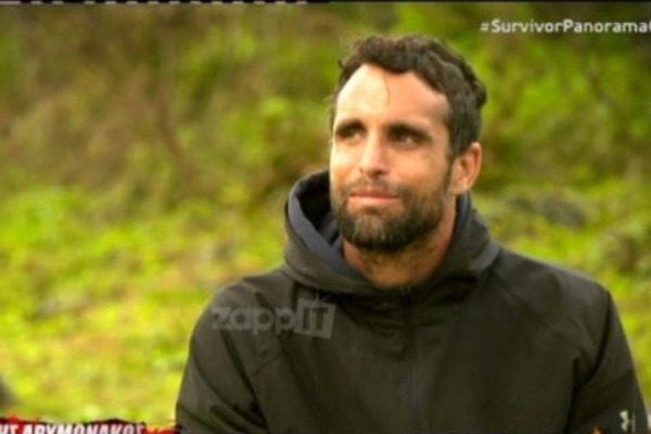 Σε άσχημη ψυχολογική κατάσταση ο Γιάννης Δρυμωνάκος στο Survivor