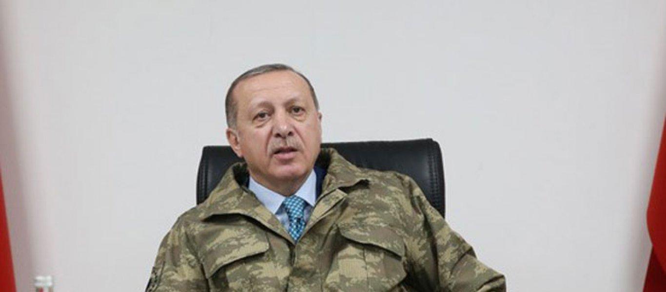 Ο Ερντογάν καλεί τους εφέδρους σε ετοιμότητα: «Εάν χρειαστεί θα πάω και εγώ στη Συρία»! (φωτό, βίντεο)