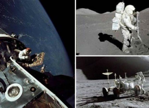 Στο φως της δημοσιότητας έντεκα φωτογραφίες αποστολών της NASA στη Σελήνη