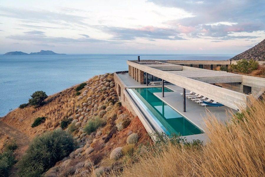 Η βίλλα στην Κρήτη που φιγουράρει στα αρχιτεκτονικά sites του πλανήτη