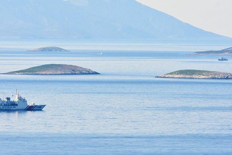 Βόλτες γύρω από τα Ίμια κάνουν ξανά τουρκικά πλοία