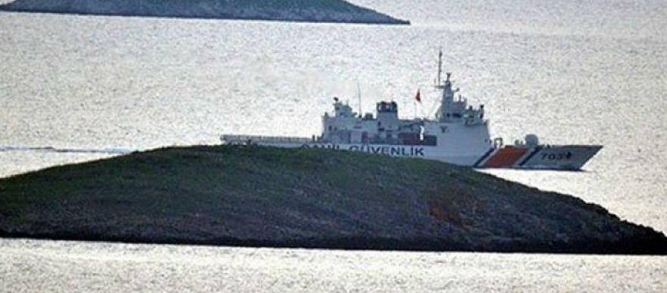 Ολοκληρώθηκε η αποχώρηση των τουρκικών δυνάμεων από τα Ιμια – Συνάντηση Ελληνα και Τούρκου Α/ΓΕΕΘΑ